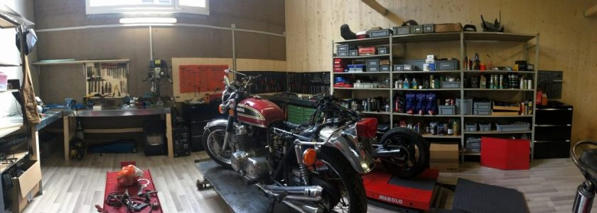 Comment Amnager Son Garage Quand On Est Fan De Motos  Confordomo